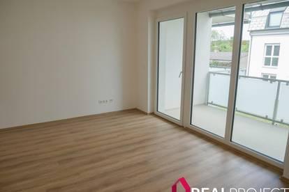 Krems - neue 2 Zimmer Eigentumswohnung mit Balkon in Grünlage