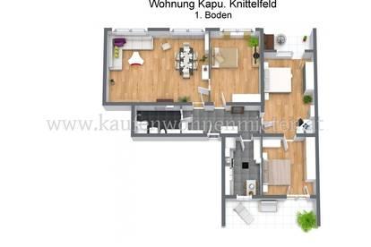 NEU!! Schöne 4 Zimmer-Wohnung am Kapuzinerplatz!