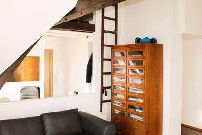Gemütliche Dachgeschoss-Wohnung in ruhiger Lage!