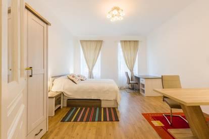 Mietwohnung BELVEDERE 28 m², Erstbezug, renoviert, möbliert, in zentraler Lage, 1040 Wien