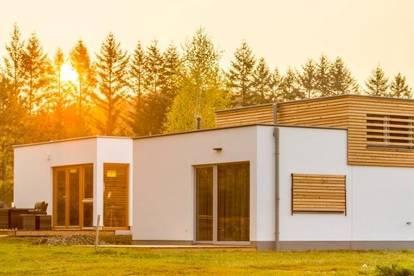 Ferienhäuser aus Holz, ab 36 m², Wohlfühlambiente