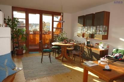 Krems an der Donau: Sonnige 3-Zimmer-Mietwohnung mit Loggia und Carport