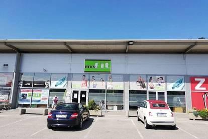 Geschäftslokal 695 m² im FMZ Gralla Shopping, direkt an der Autobahn Leibnitz-Gralla
