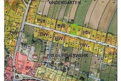 Baugrund Nordhangstr. Echsenbach
