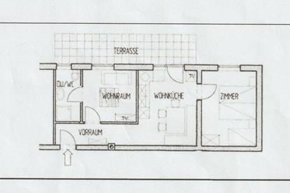 Wohnung im EG mit großer Terrasse u. Garten