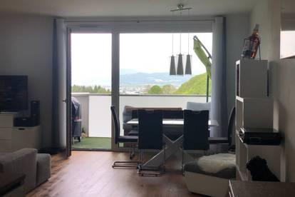 UNMÖBLIERT!!!  -  PROVISIONSFREI direkt vom Eigentümer  -  uneinsehbare Balkon sowie Terrassenwohnung am Waldrand mit Blick auf den Gaisberg und die Stadt Salzburg  -  BALKON- UND TERRASSEN-WOHNUNG