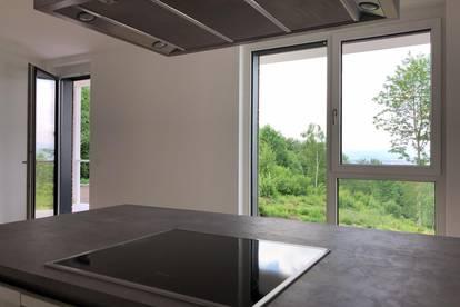 PROVISIONSFREI direkt vom Eigentümer  -  sehr helle und großzügige Balkon- und Gartenwohnung mit einzigartigem und freiem Blick über Salzburg -  BALKON- UND GARTEN-WOHNUNG