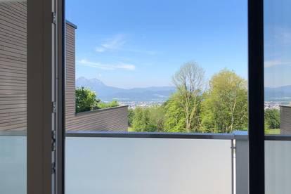 PROVISIONSFREI direkt vom Eigentümer  -  helle 3-Zimmer-Wohnung mit uneinsehbarem Balkon mit Blick auf die Stadt Salzburg  -  BALKON-WOHNUNG
