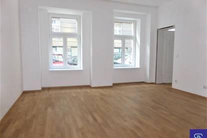 Unbefristeter 51m² Altbau mit Einbauküche u. Hofterrasse - 1060 Wien