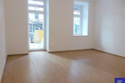 Erstbezug: 48m² Altbau + 36m² Terrasse in hofseitiger Ruhelage - 1070 Wien