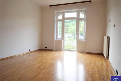 Grünblick: 79m² Altbau mit Balkon Nähe S50 Weidlingau - 1140 Wien