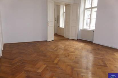 Unbefriste 80m² Altbau-Hauptmiete mit Einbauküche und Lift - 1090 Wien