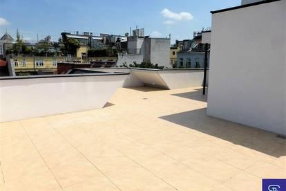 DG-Erstbezug: 145m² + 124m² Terrassen in hofseitiger Ruhelage - 1070 Wien