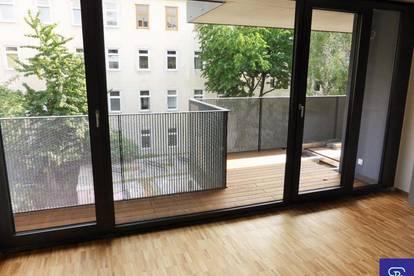 Exklusiver 81m² Neubau mit Einbauküche u. Balkon!