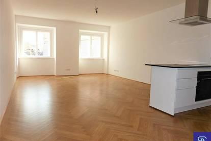 Erstbezug: 75m² Altbau mit Einbauküche am Franziskanerplatz - 1010 Wien