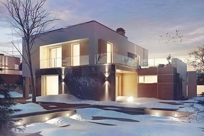Haus mit dem Grundstück belagsfertig