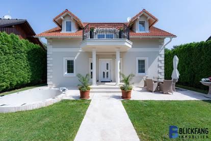 Villa am Schloßsee mit Seezugang! Ruhelage!