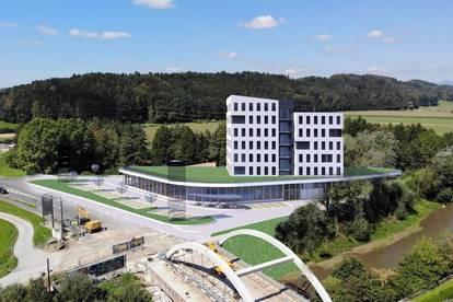 UNIT Center Gleisdorf - Büro und Gewerbeflächen in absoluter Frequenzlage