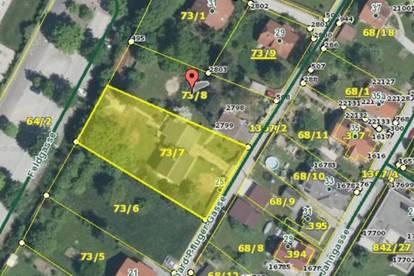 Sonniges Baugrundstück in TOP Lage von Gleisdorf ...! (2646m² m²)