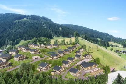 Premium-Alpen-Chalet an der Skipiste mit 5% Mietgarantie und Eigennutzung