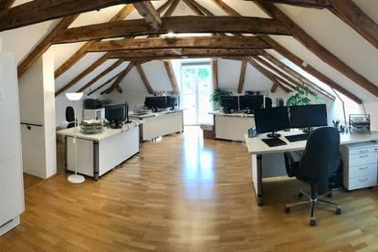 Dachgeschoss als Büro