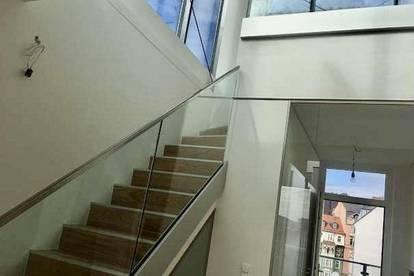 PROVISIONSFREI! Luxuriöses, modernes Terrassen-Penthouse mit Traumausblick in Toplage