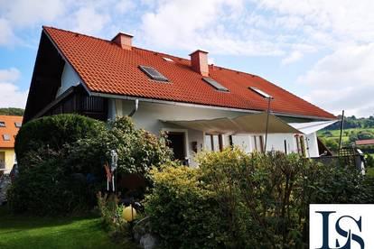 Großzügiges Wohnhaus in erhöhter Lage unweit von Pöllau