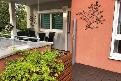 Tolle 4-Zimmerwohnung mit Terrasse & Garten