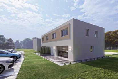 FERTIGSTELLUNG im MAI, Doppelhaushälfte mit Garten in Mitterndorf, in ruhiger Wohnhausanlage!