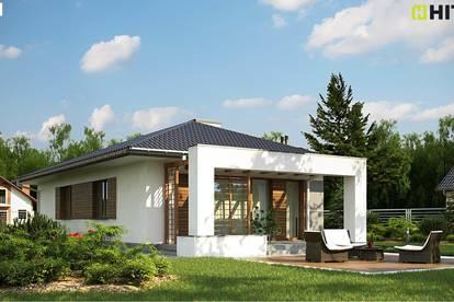 Bungalow in Ruhelage belagsfertig auf 614 m2 großen Grundstück!
