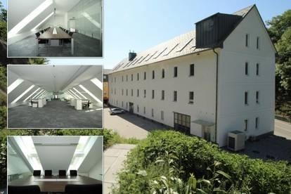 480 m² Bürofläche in der vollsanierten Klammühle an der A7 (DG)