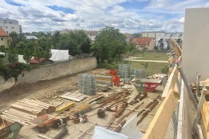 3 Zi Dachgeschosswohnung mit Terrasse - Niedrigenergiehaus in Ruhelage