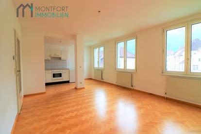 Schöne 2,5-Zimmerwohnung im Herzen von Bludenz inkl. TG Platz