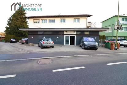 Lustenau: Geschäftslokal in Hochfrequenzlage mit Parkplätzen zu vermieten