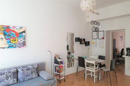 Zwischenmiete für 1 - 3 Monate - 2-Zimmer Wohnung, 45m² - möbliert