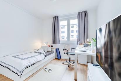 Einzelzimmer Wohnung - Smartments - All-in-Miete - Möbliert - Studentenwohnheim