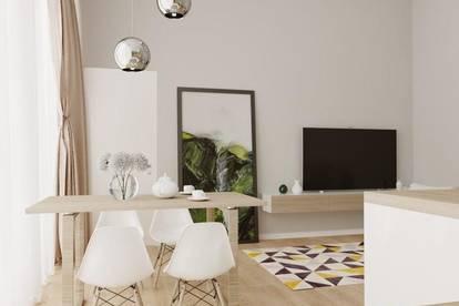 3-Zimmer Wohnung mit Loggia