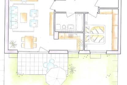 2 Zimmer Gartenwohnung in Anthering -