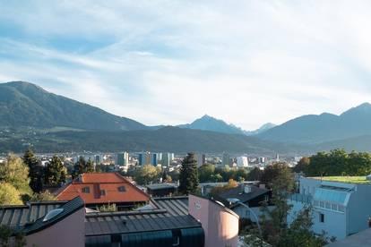 Penthouse-Maisonette-Wohnung in Arzl mit unverbaubarer schöner Aussicht