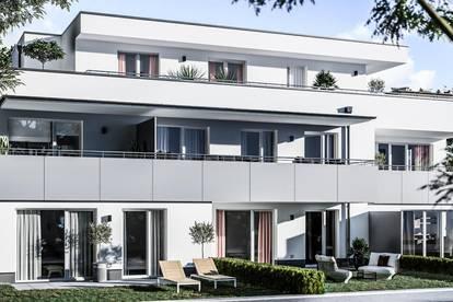Paradies für Geniesser - Neubauwohnung mit Garten