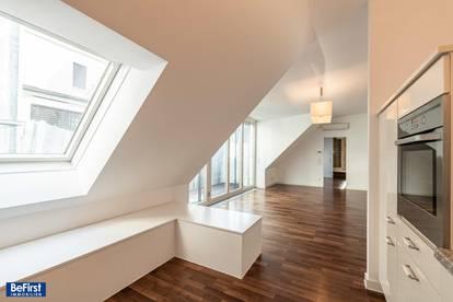 Hochwertig sanierte, großzügige Maisonettewohnung mit Terrasse in Bestlage des 7. Bezirks