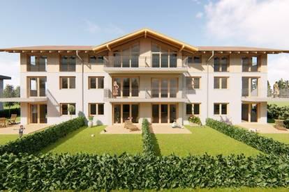 Wohnresidenz Wallersee - gesunde Gartenwohnung
