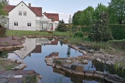 Idyllischer Garten, Schwimmteich und 238m² Wohnfläche in 8510 Stainz