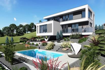 Traumhaftes Design - Einfamilienhaus am Südhang, mit Ausblick, in Toplage