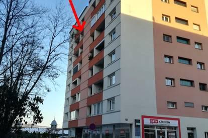 TEILMÖBLIERTE VERMIETUNG  1-Zi. Villach Stadtmitte