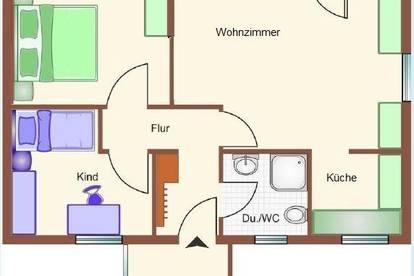 Wohnung in schöner Aussichtslage zu vermieten