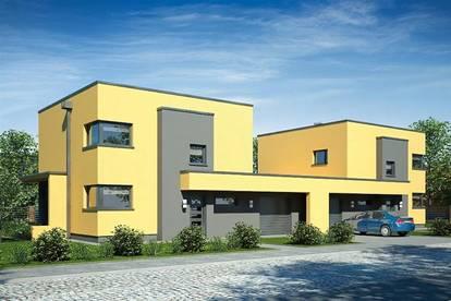 Modernes Doppelhaus in Mödling Mitte