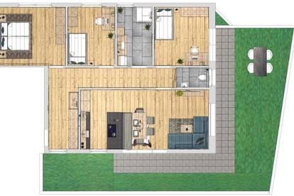 4-Zimmer Gartenwohnung Neubau Top 2