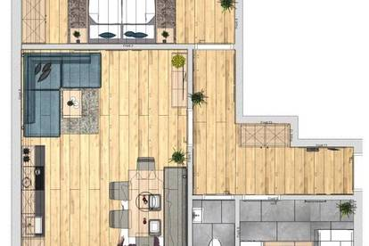 2-Zimmer Wohnung Neubau Top 3