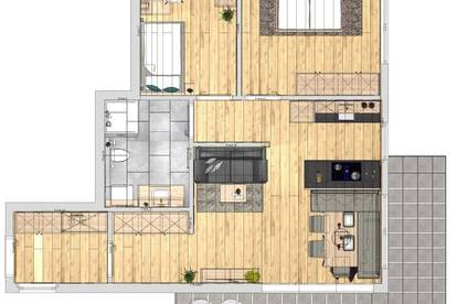 3-Zimmer Wohnung Neubau Top 5